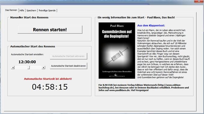 Radtool 24-h-Rennen Screenshot2