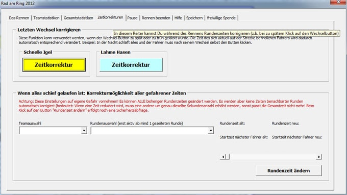 Radtool 24-h-Rennen Screenshot5