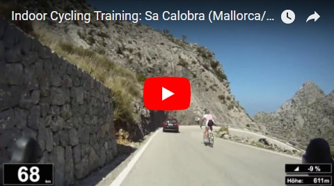 Sa Calobra Indoor-Cycling-Video auf Youtube (Mallorca)